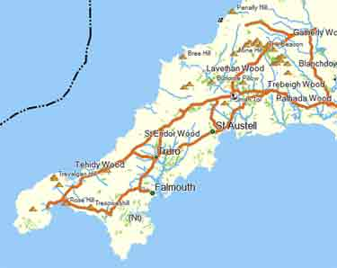Free walkers map of devon for garmin gps print out your own maps or use it on your garmin gps all free gumiabroncs Gallery