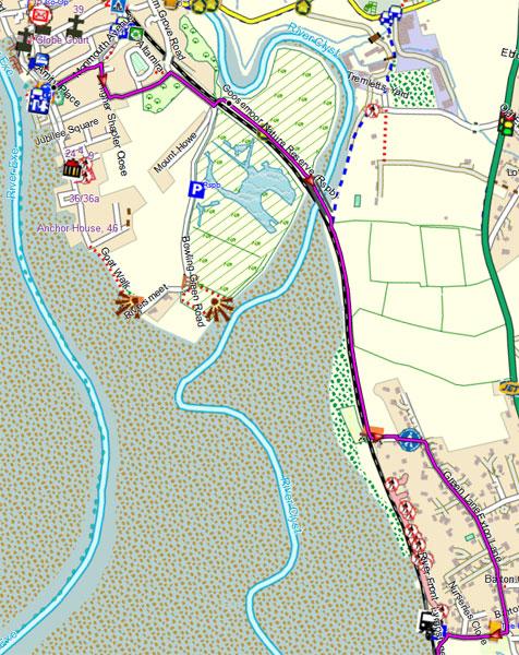 exe river walk