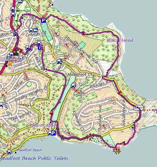Popular Torquay Circular Walks with Maps